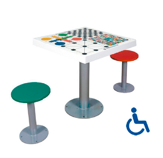 Juego de mesa dos asientos