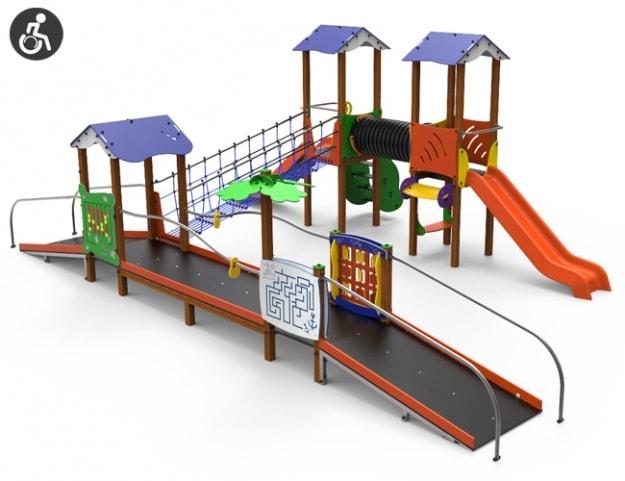 Complejo Tera Parques Infantiles Inclusivos