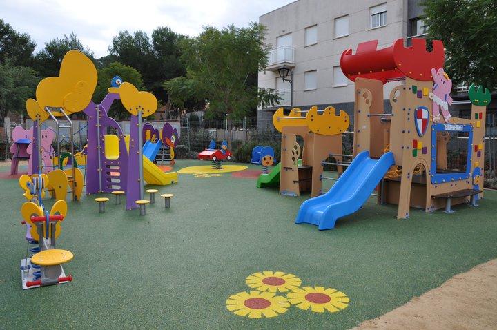 Inauguración Parque Infantil Pocoyó 2010