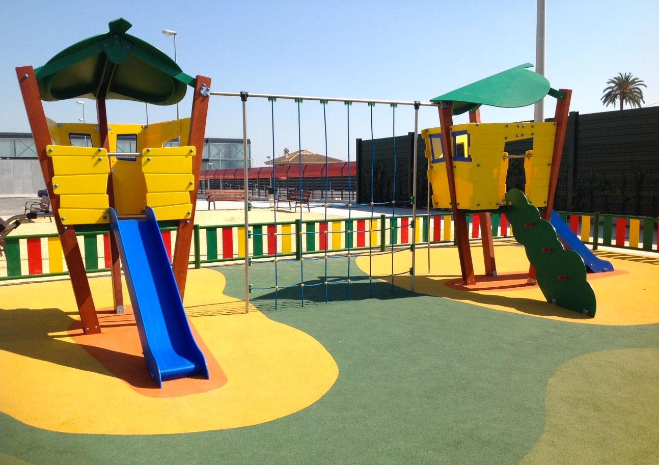 Nuevos complejos para parques infantiles Serie Hoja.