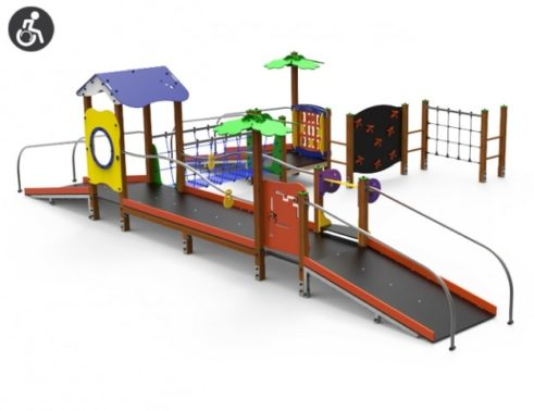 Parque Infantil Accesible y de Integración Domino IV