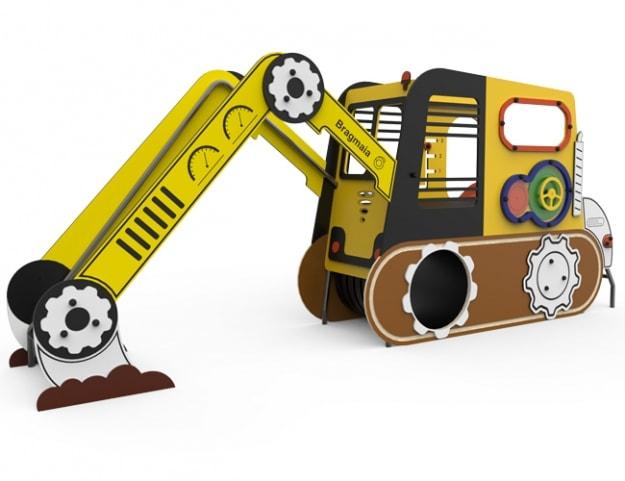 Juego infantil La Excavadora giratoria