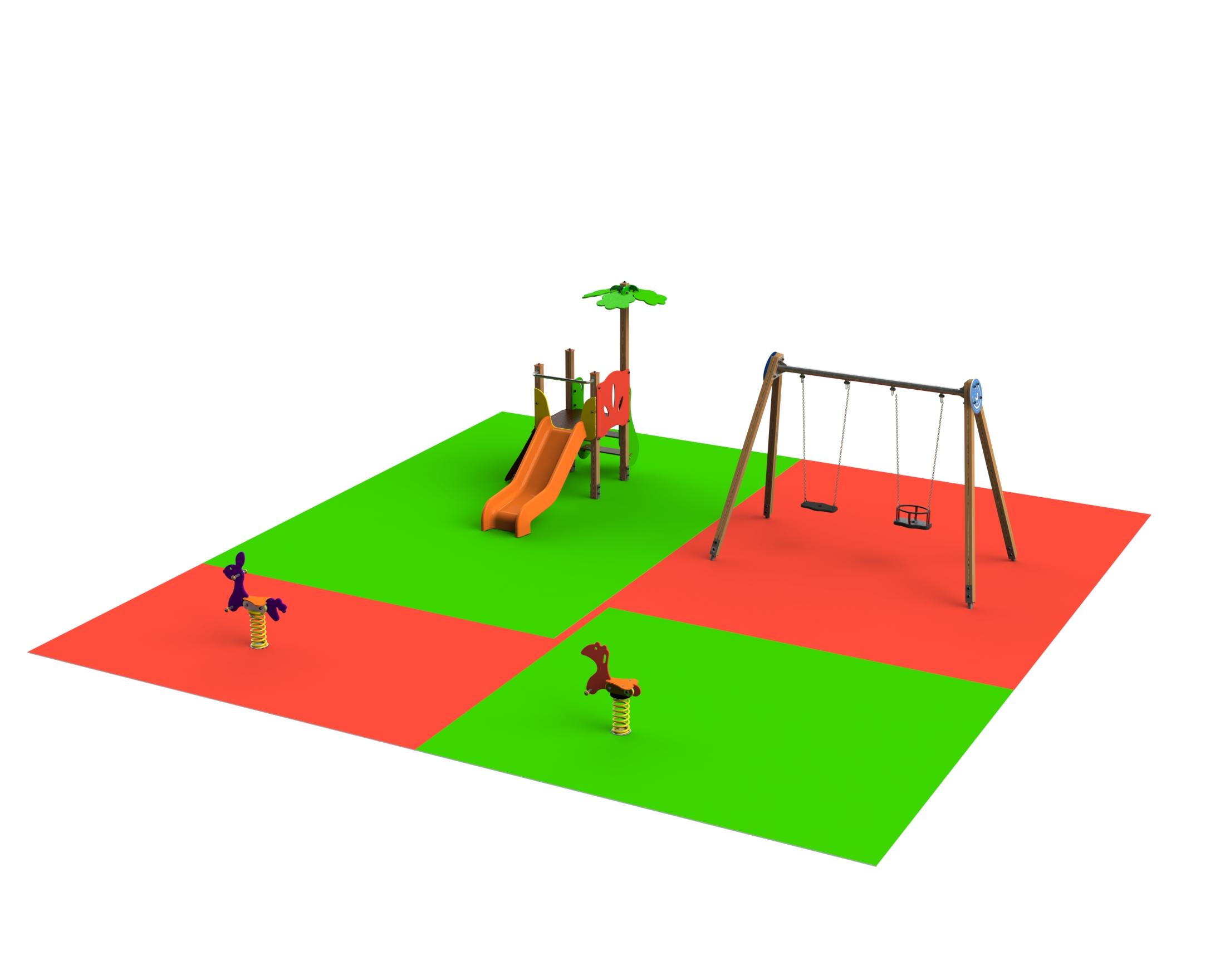 Ofertas para parques infantiles en patios de colegios de infantil
