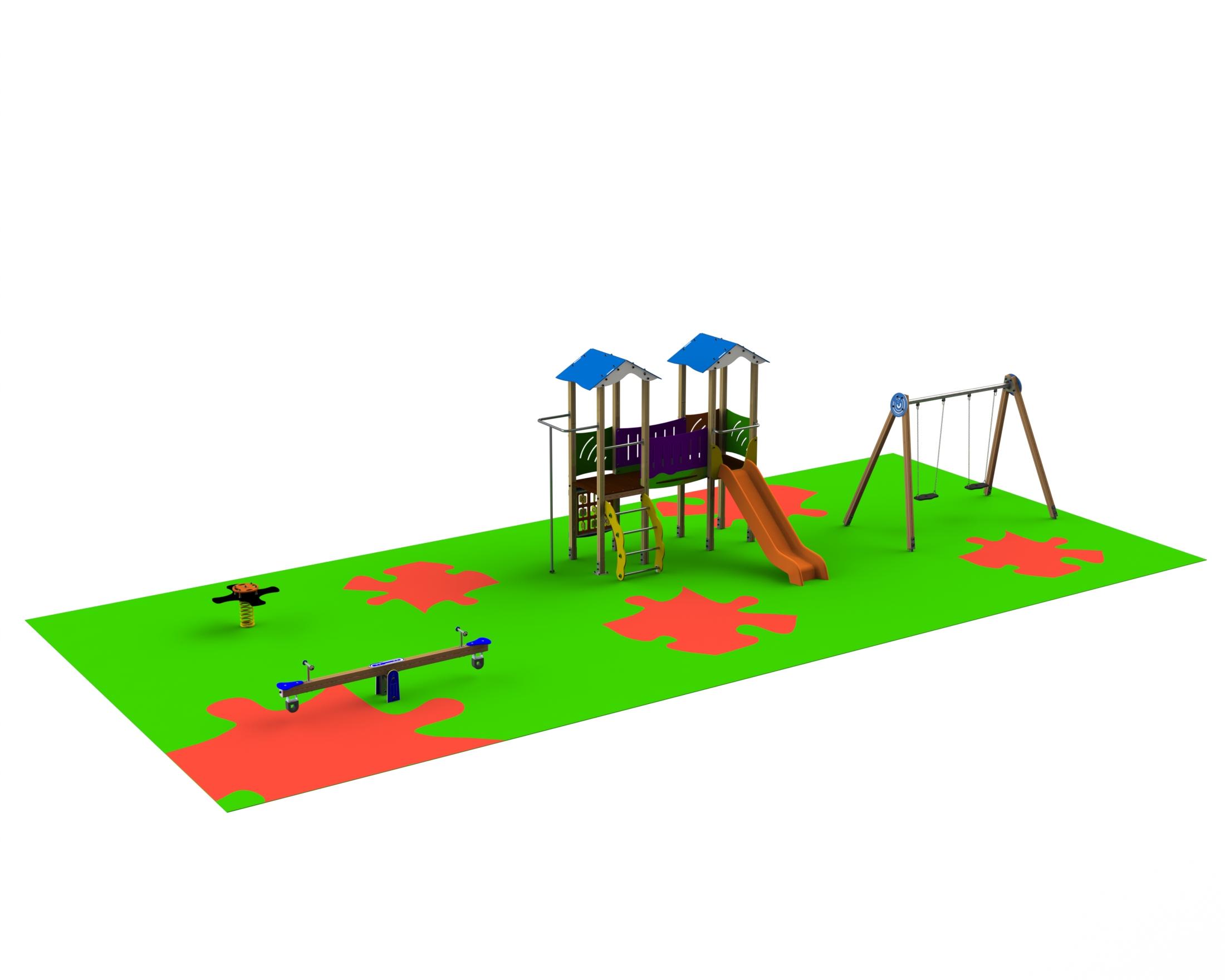 Ofertas para parques infantiles en plazas de ayuntamientos