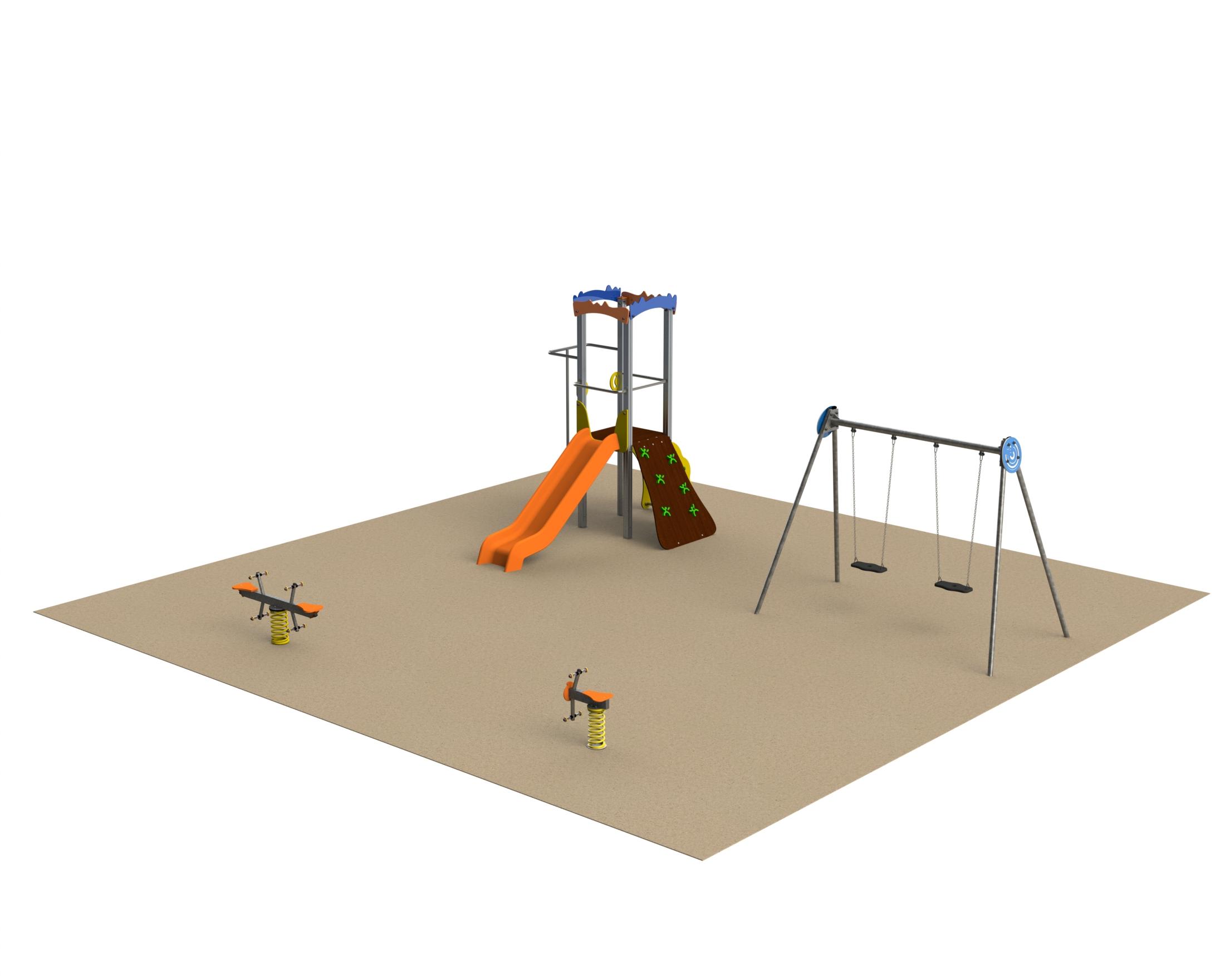 Ofertas para parques infantiles torre tobogán, columpios y balancines