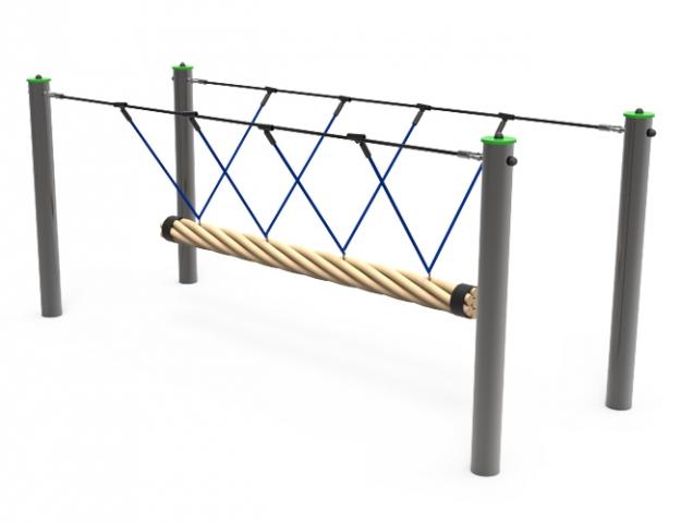 Columpio cuerda para parques infantiles