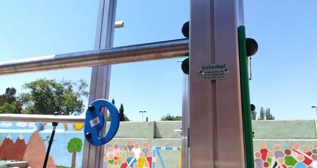 Columpios antivandálicos para parques infantiles de exterior