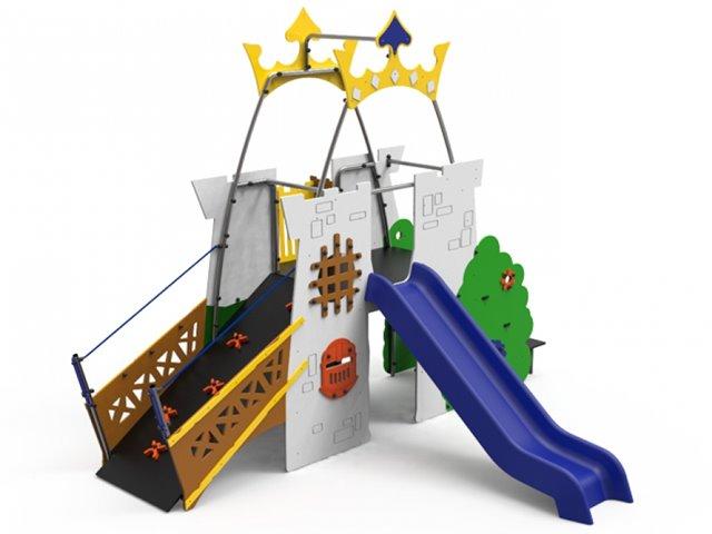 Juego Infantil Multiaventura Fortaleza