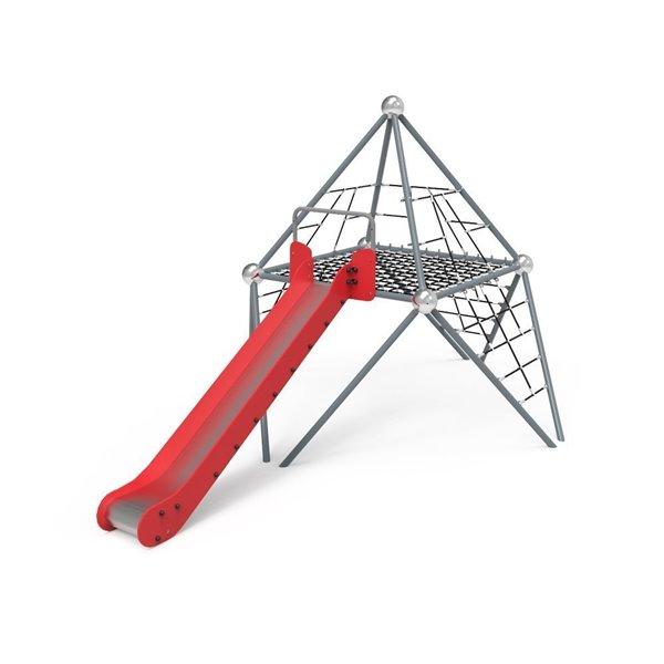 Pirámide de Cuerdas y Tobogán Atomium 1