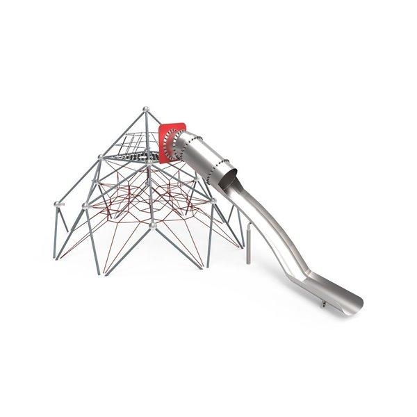 Pirámide de Cuerdas y Tobogán Atomium 2