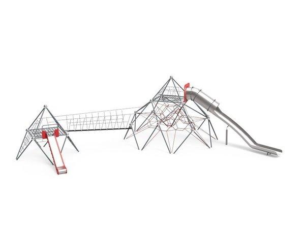 Pirámides de Cuerdas y Toboganes Atomium 3