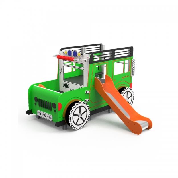 Juego Infantil El Jeep
