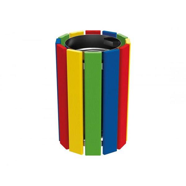 Papeleras infantiles de colores Urbadep