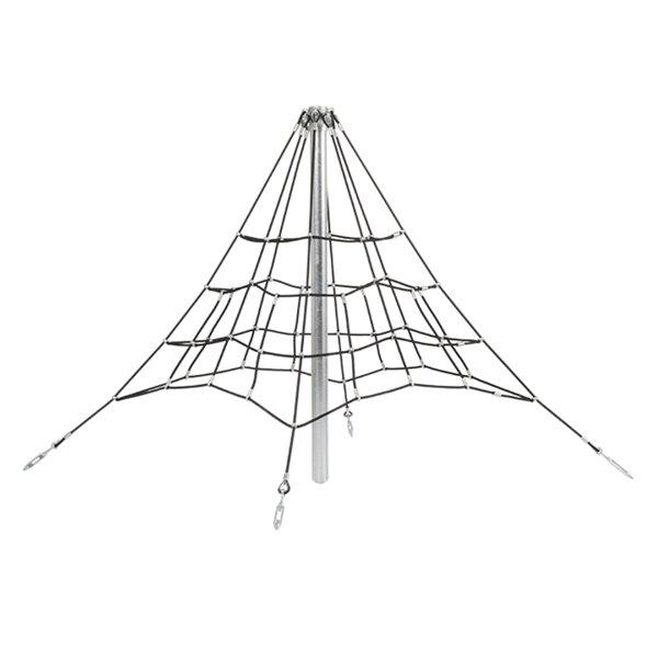 Pirámide de Cuerdas y Trepa 2 Metros